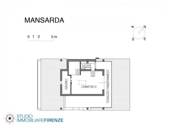 Villa in vendita a Firenze, Con giardino, 550 mq - Foto 3