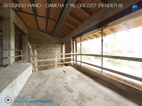 Villa in vendita a Firenze, Con giardino, 550 mq - Foto 24