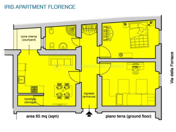 Appartamento in affitto a Firenze, 78 mq - Foto 14