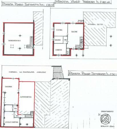 Villa in vendita a Pianezza, Parucco, Con giardino, 223 mq - Foto 3