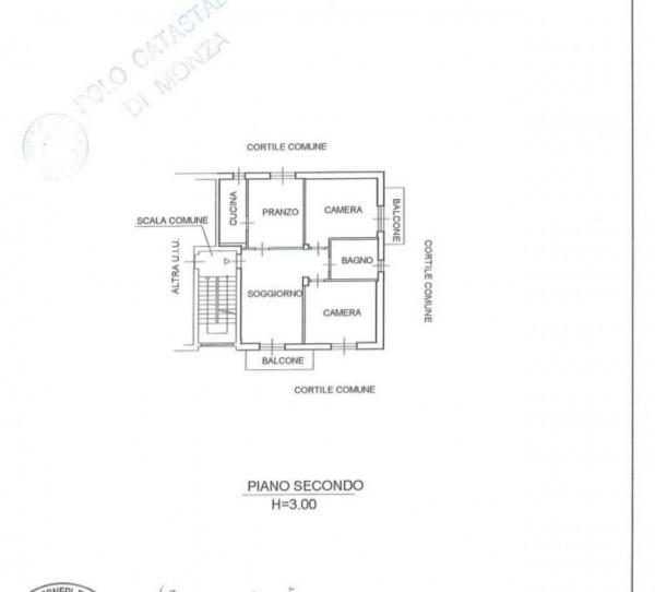 Appartamento in vendita a Muggiò, San Carlo, 120 mq - Foto 5