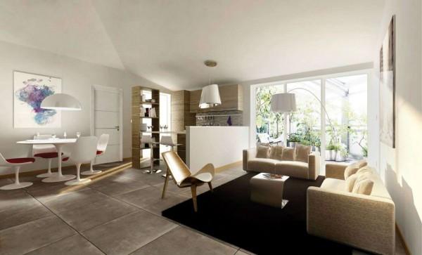 Appartamento in vendita a Torino, Mirafiori, Con giardino, 94 mq - Foto 12
