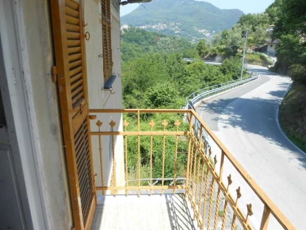 Casa indipendente in vendita a Tribogna, Gattorna, Arredato, con giardino, 250 mq - Foto 59