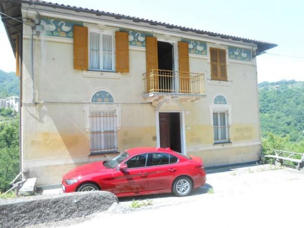 Casa indipendente in vendita a Tribogna, Gattorna, Arredato, con giardino, 250 mq
