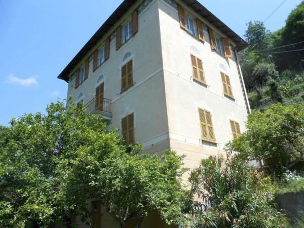 Casa indipendente in vendita a Tribogna, Gattorna, Arredato, con giardino, 250 mq - Foto 20