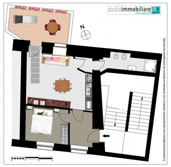 Appartamento in vendita a Genova, Arredato, 50 mq - Foto 2