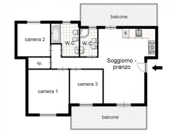 Appartamento in vendita a Taranto, Residenziale, 90 mq - Foto 3