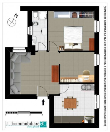 Appartamento in vendita a Genova, 55 mq - Foto 2