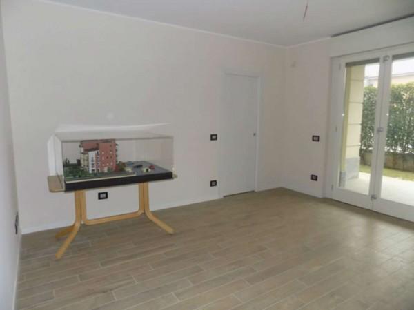 Appartamento in vendita a Garbagnate Milanese, Santa Maria Rossa, Con giardino, 154 mq - Foto 5