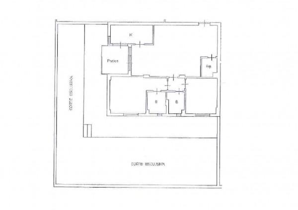 Appartamento in vendita a Roma, Ponte Di Nona - Colle Degli Abeti, Con giardino, 82 mq - Foto 2