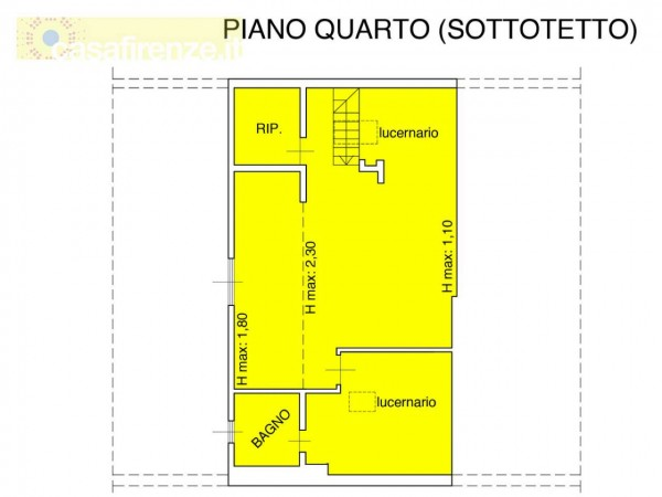 Appartamento in vendita a Firenze, 107 mq - Foto 8