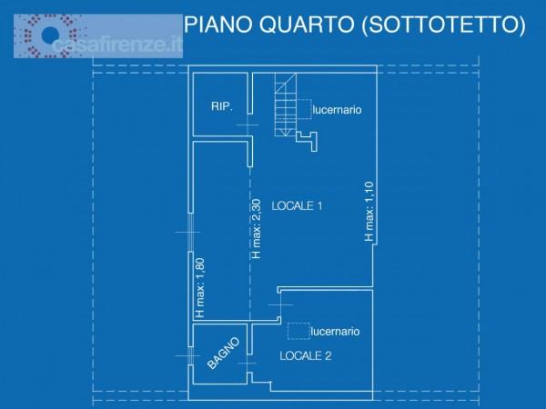 Appartamento in vendita a Firenze, 107 mq - Foto 15