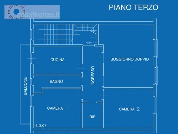 Appartamento in vendita a Firenze, 107 mq - Foto 26