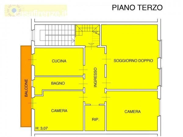 Appartamento in vendita a Firenze, 107 mq - Foto 9