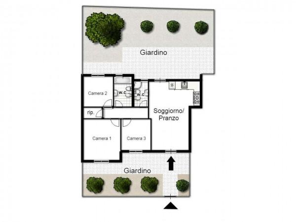 Appartamento in vendita a Taranto, Residenziale, Con giardino, 90 mq - Foto 2