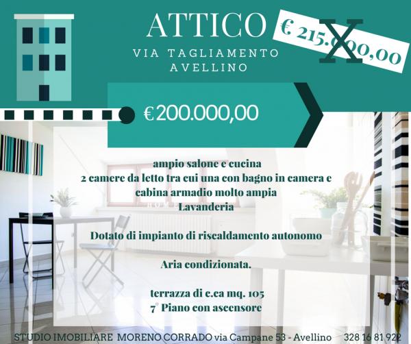 Appartamento in vendita a Avellino, Villa Di Marzo, 120 mq - Foto 1