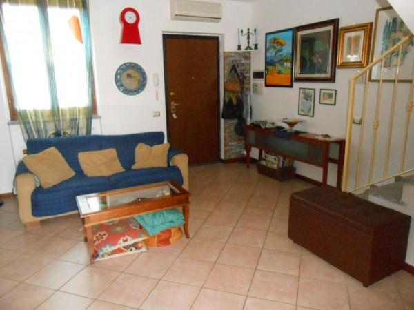 Villetta a schiera in vendita a Casale Cremasco-Vidolasco, Residenziale, Con giardino, 134 mq