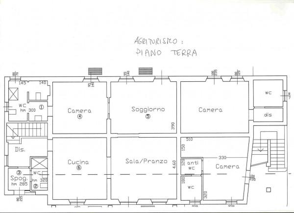 Rustico/Casale in vendita a Altopascio, 450 mq - Foto 3