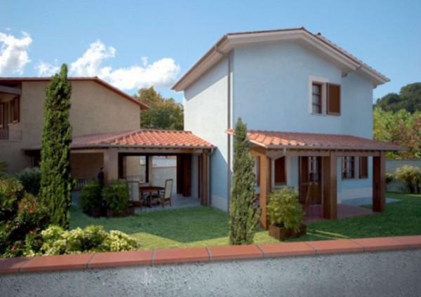 Villetta a schiera in vendita a Bagni di Lucca, 183 mq - Foto 1