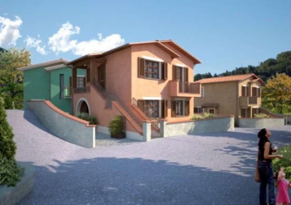 Villetta a schiera in vendita a Bagni di Lucca, 183 mq - Foto 7