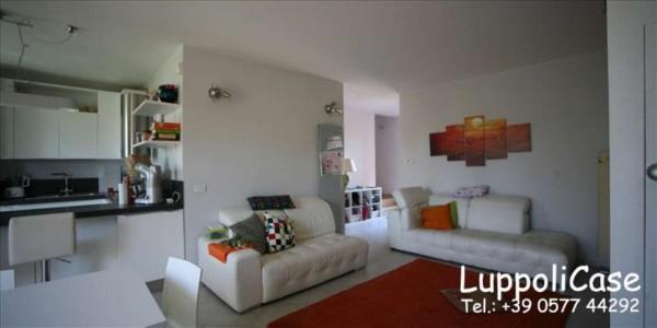 Appartamento in vendita a Monteroni d'Arbia, Arredato, con giardino, 132 mq - Foto 10