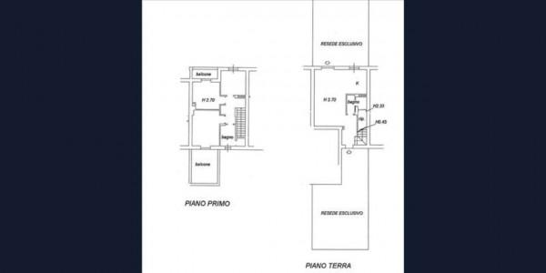 Appartamento in vendita a Monteroni d'Arbia, Arredato, con giardino, 132 mq - Foto 12