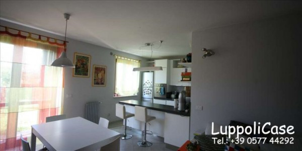 Appartamento in vendita a Monteroni d'Arbia, Arredato, con giardino, 132 mq - Foto 8
