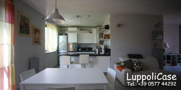 Appartamento in vendita a Monteroni d'Arbia, Arredato, con giardino, 132 mq - Foto 11