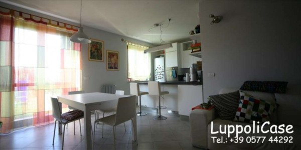 Appartamento in vendita a Monteroni d'Arbia, Arredato, con giardino, 132 mq - Foto 7
