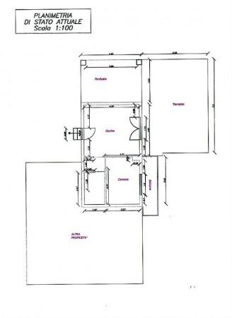 Appartamento in vendita a Rivalta di Torino, Vicinanze Parco Sangone, Arredato, 40 mq - Foto 3
