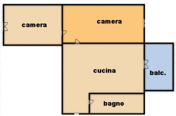 Appartamento in affitto a Torino, Rebaudengo, 60 mq - Foto 18