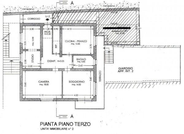 Appartamento in vendita a Lavagna, Cavi, Con giardino, 95 mq - Foto 3