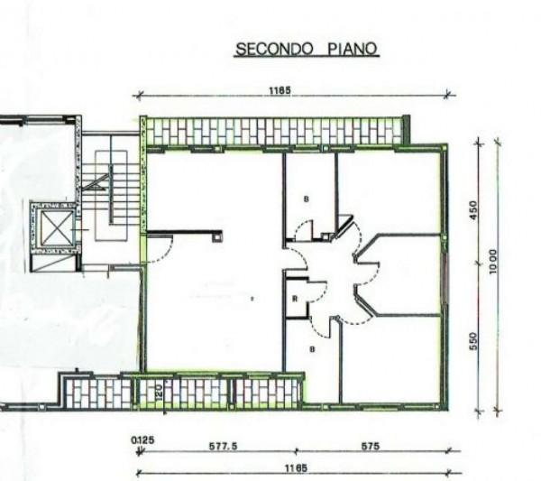 Appartamento in affitto a Busto Arsizio, Centrale, 120 mq - Foto 2