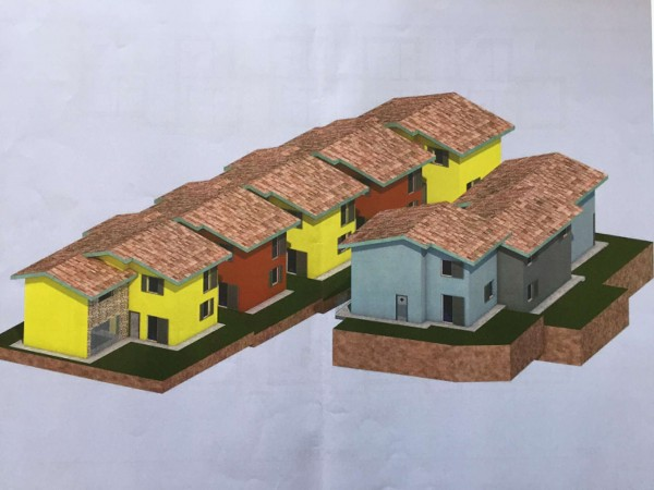 Villetta a schiera in vendita a Caravate, Con giardino, 130 mq - Foto 13