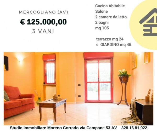 Appartamento in vendita a Mercogliano, Centro, Con giardino, 105 mq