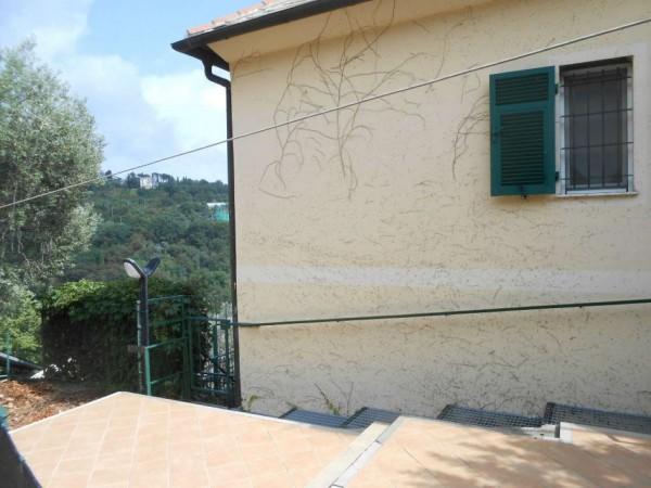 Appartamento in vendita a Genova, Adiacenze Chiapparo, Con giardino, 120 mq - Foto 8
