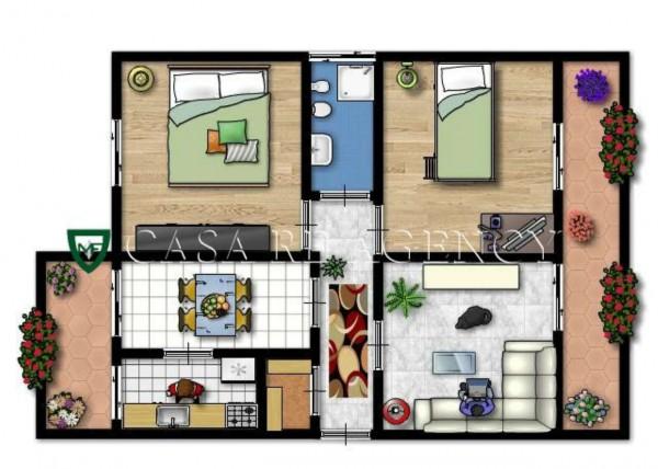 Appartamento in vendita a Varese, Biumo Inferiore, Con giardino, 111 mq - Foto 2