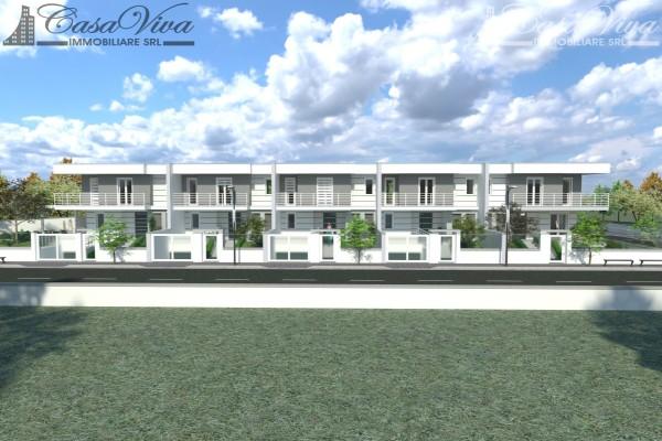 Villetta a schiera in vendita a Parete, Stadio, Con giardino, 210 mq - Foto 8
