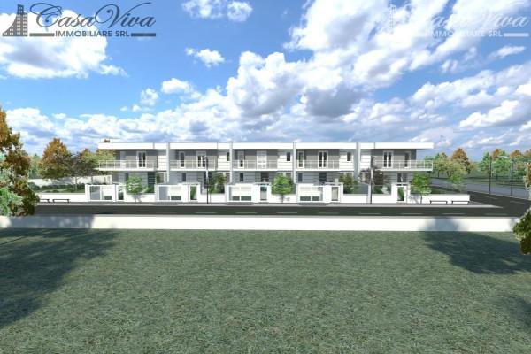 Villetta a schiera in vendita a Parete, Stadio, Con giardino, 210 mq - Foto 9