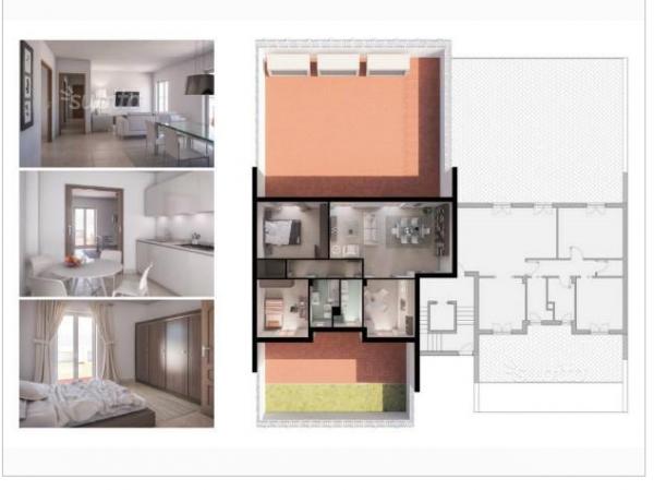 Appartamento in vendita a Lusciano, Nuova, 100 mq - Foto 3