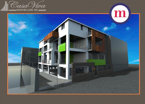 Appartamento in vendita a Lusciano, Centro, 100 mq - Foto 17