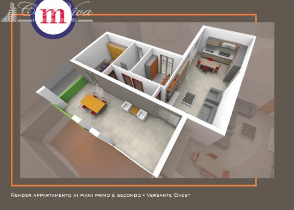 Appartamento in vendita a Lusciano, Centro, 100 mq - Foto 9