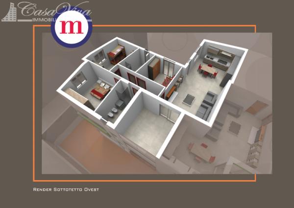 Appartamento in vendita a Lusciano, Centro, 100 mq - Foto 6