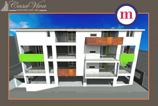 Appartamento in vendita a Lusciano, Centro, 100 mq