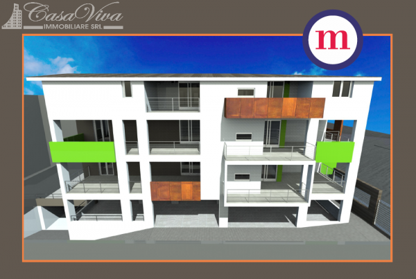 Appartamento in vendita a Lusciano, Centro, 100 mq - Foto 16