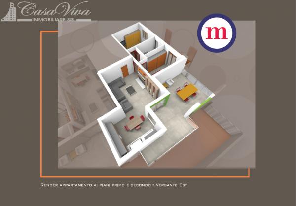Appartamento in vendita a Lusciano, Centro, 100 mq - Foto 8