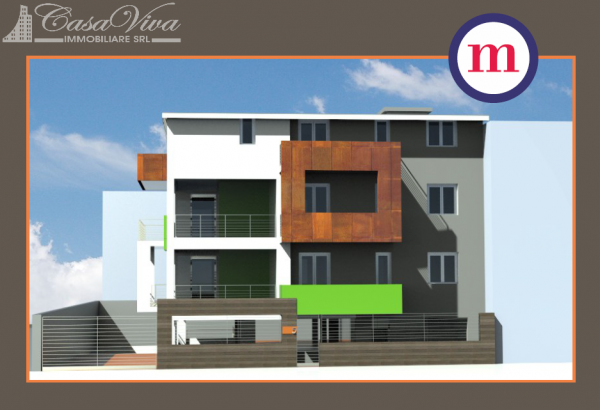 Appartamento in vendita a Lusciano, Centro, 100 mq - Foto 19