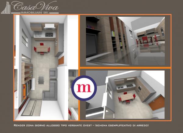 Appartamento in vendita a Lusciano, Centro, 100 mq - Foto 4