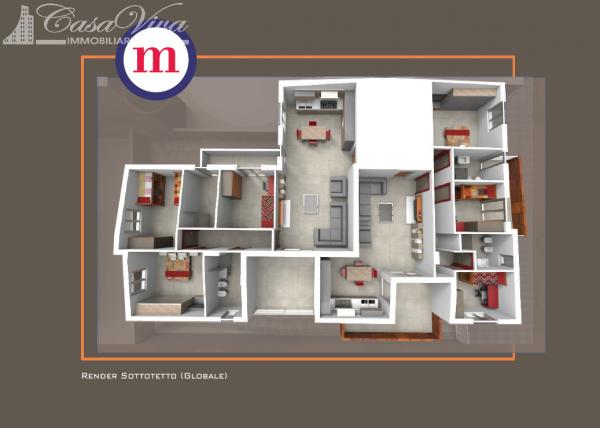 Appartamento in vendita a Lusciano, Centro, 100 mq - Foto 7