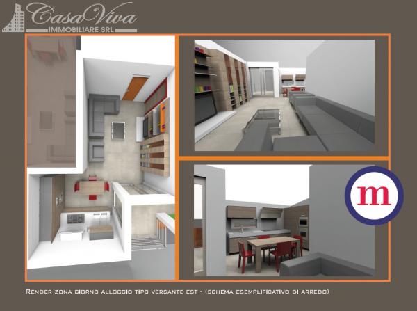 Appartamento in vendita a Lusciano, Centro, 100 mq - Foto 3